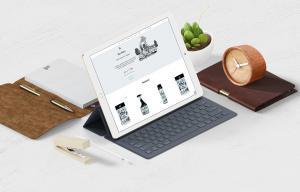 Shin Nong site on iPad