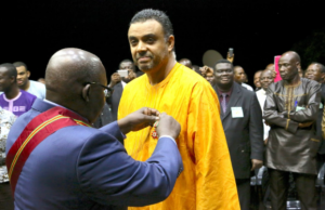 Dag Heward-Mills was awarded the highest medal honoring his outstanding work in the community.
