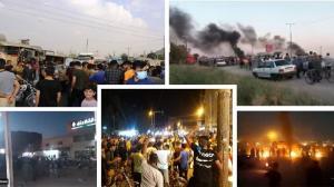July 18, 2021 - The third day of the uprising of the people of Khuzestan in Ahvaz, Shush, Karkheh, Susangard, and kut Abdullah