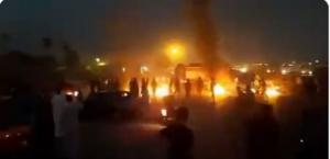 July 18, 2021 -  The IRGC special unit entered Kut Abdullah and the roads leading to the city were closed by the police.