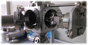 Coating chamber of Lion Alternative's nano-carbon coating device
