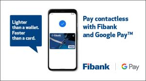 Fibank customers can now use Google Pay with their Visa cards