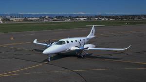 Renderings of Bye Aerospace eFlyer 800. Source:  Bye Aerospace