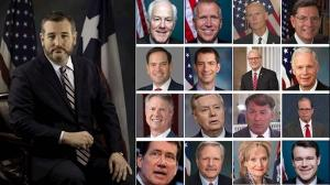 July 19, 2021 - U.S. Senator Ted Cruz (R-Texas), member of the Senate Foreign Relations Committee, and 16 other American Senators introduced a bill to sanction the Iranian regime's president, Ebrahim Raisi, and Supreme Leader Ali Khamenei.