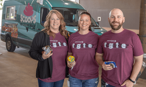 American Fidelity Colleagues Enjoy Ice Cream Celebration