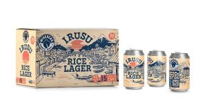 A photo of Irusu Rice Lager by WISACRE Brewing Company