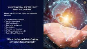 VX Global International Funding Platform