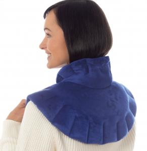 microwavable neck and shoulder wrap