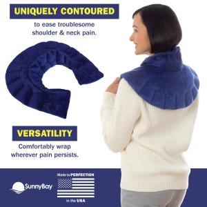 microwavable neck and shoulder wrap benefits