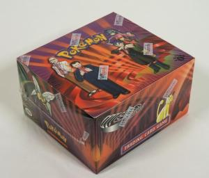 Wizards of the Coast Pokémon Gym Challenge 1st edition factory sealed booster box from 2000 ($17,500).