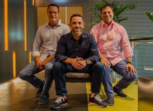 Insentra Group Directors, Steve Boi, Ronnie Altit and Itzik Gur