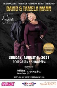 An Intimate Evening with David and Tamela Mann at the Casino at Dania Beach.