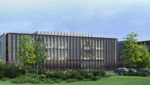 Ark Data Centres' new zero emissions building (artists impression)