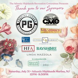Parkfest is free to the public and made possible by these local sponsors