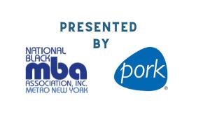 NY Metro Black MBA & Pork Logo