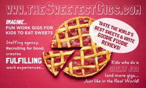 Staffing agency, Recruiting for Good generates proceeds to fund gigs for talented kids #makepositiveimpact www.TheSweetestGigs.com