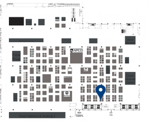 Waveband Communications Booth Location at APCO 2021