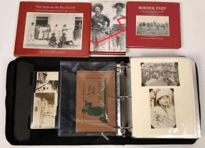 Photo diary of Pancho Villa with real photo postcards (RPCs) by Arizona photographer Walter Horne (estimate: $25,000-$50,000).