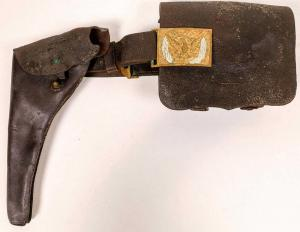 The militaria section of the auction is phenomenal, highlighted by General George A. Custer's Civil War holster and gun belt (estimate: $60,000-$90,000).