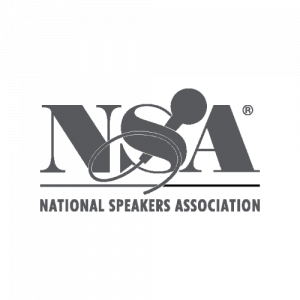 Logo for the National Speakers Association (NSA)