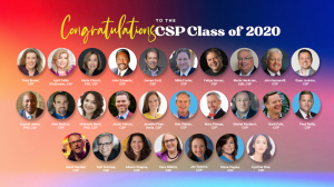 Headshots and names of all 2020 CSP recipients
