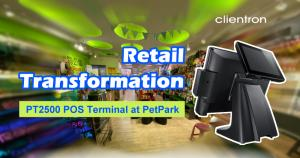The Clientron PT2500: Retail Transformation at the Point of Sale
