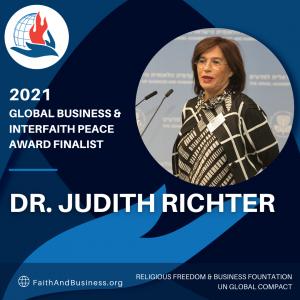 Dr. Judith Richter, CEO Medinol
