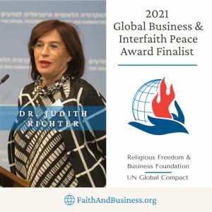 Dr. Judith Richter, CEO Medinol, 2021 Finalist
