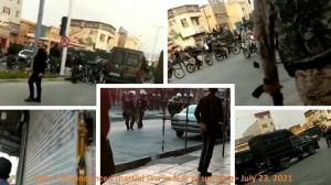 July 24, 2021 - Izeh – Undeclared martial law in fear of the people's uprising – July 23, 2021