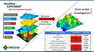 Site Suitability Module by Genesis Ray Energy