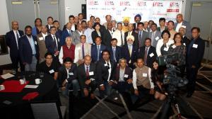 Hon. Ambassador Taranjit Singh Sandhu with TiE SoCal Charter Members