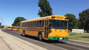 Stockton electric school bus