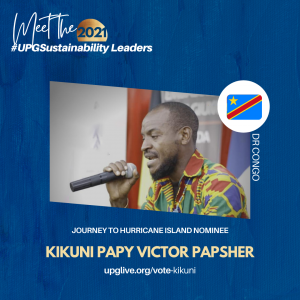 Kikuni Papy Victor Papsher - Vote for UPGSustainability Leader