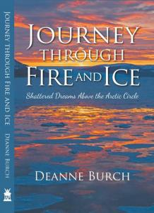 This is a phot of the cover of Journey Through Fire and Ice.