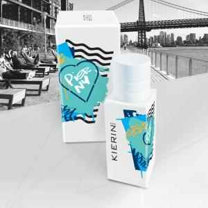 New fragrance KIERIN NYC PIER NEW YORK is a premium niche eau de parfum with salty-aquatic harmony of Salted Fig, Sage, Seaweed, Italian Bergamot, Eucalyptus, Mimosa, Violet and Tonka Wood notes crafted in collaboration with award-winning perfumer, Jerome Epinette.