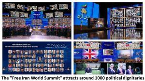 1st August 2021 - The Free Iran World Summit attracts around 1000 political dignitaries.