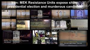 1st August 2021 - The network of the Mujahedin-e Khalq in Iran continues to carry out its activities across the country calling for the boycott of the mullahs regime's sham elections.