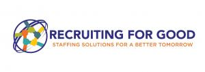 Recruiting for Good helps companies find talented professionals. Creative staffing solutions for a better tomorrow #staffingsolutions #makepositiveimpact www.RecruitingforGood.com