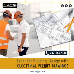 Excellent Building Design with Electrical Permit Drawings