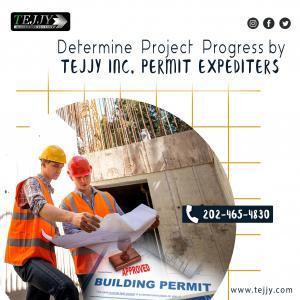Determine Project ProgressbyTejjy Inc.PermitExpediters