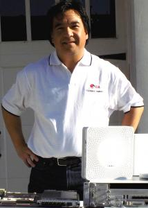 front face and body image of Earl Lum, President of EJL Wireless Research