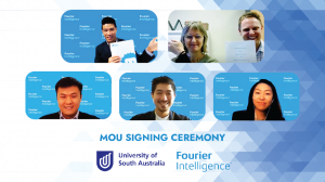 From top left: Mr. Zen Koh, Professor Susan Hillier, and Dr. Brenton Hordacre.  From bottom left: Mr. Zhi Kang Tai, Mr. Owen Teoh, and Ms. Sarah Lim.