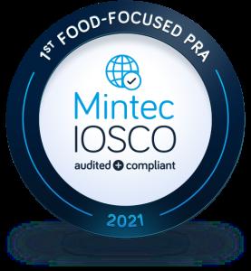 IOSCO Accredited, Mintec Benchmark Prices