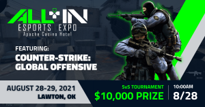 $10,000 Counter-Strike: Global Offensive Tournament at the Apache Casino Hotel