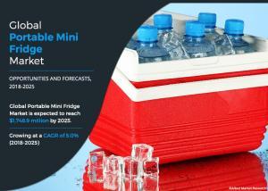 Portable Mini Fridge Market Image