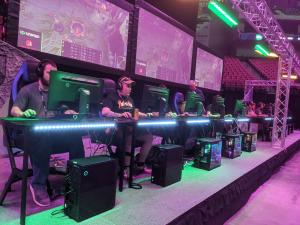 PC Arena at the recent Unified Esports Festival in Lincoln, NE