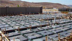 Wafflemat has installed over 30,000,000 SQ Feet of Concrete Foundation with 0 Structural Failures