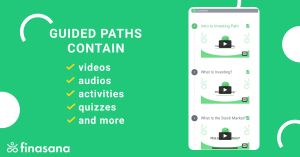 Guided Paths Contain Videos, Audios, Activities, Quizzes, and More