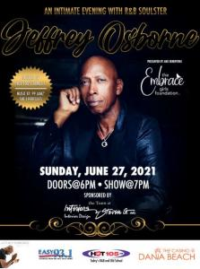 Jeffrey Osborne at the Casino at Dania Beach sold out in two weeks.