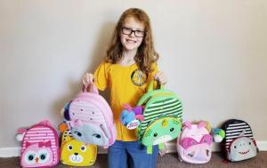 This year, Ivy Garner made sure there were backpacks for Mary's Place toddlers.